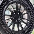 Michelin и GM разработали прототип безвоздушного колеса