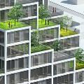 MVRDV спроектировала голландское офисное здание, покрытое растениями в горшках